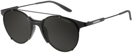Carrera Sunnies 128/S Matte Black, Grey Lenses
