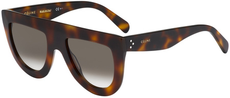 Celine Sunglasses Andrea Havana, Brown Gradient Lenses
