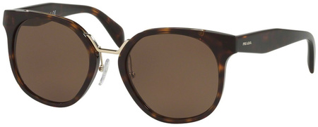 Prada PR 17TS Sunglasses Havana, Brown Lenses