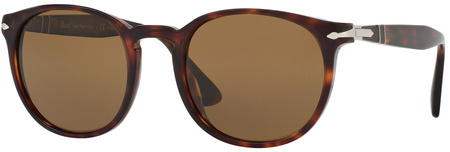 Person 3157s Sunglasses Havana, Crystal Brown Polarised