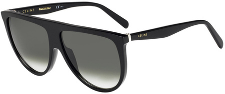 Celine Sunglasses Thin Shadow Black, Grey Gradient Lenses