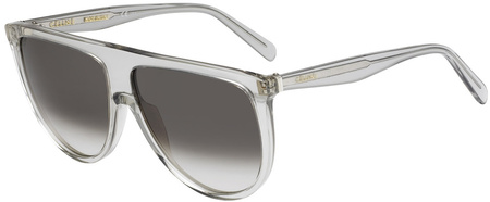 Celine Sunglasses Thin Shadow Grey Transparent, Grey Gradient Lenses