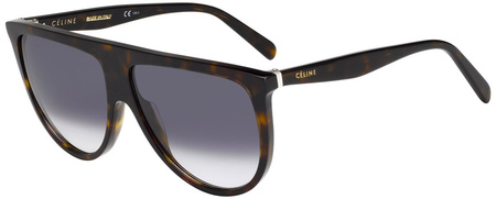 Celine Sunglasses Thin Shadow Havana, Dark Grey Gradient Lenses
