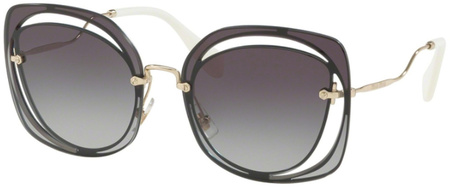 Miu Miu Sunglasses 54SS Dark Grey, Grey Gradient Lenses