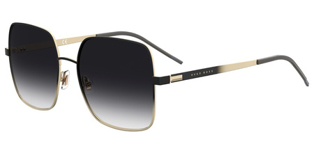 Black and Gold/Dark Grey Gradient Lenses