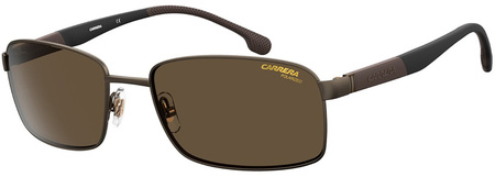 Matte Bronze/Bronze Polarised Lenses