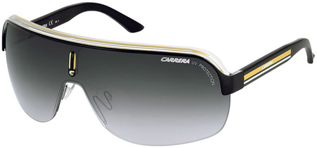 Carrera Sunglasses Top Car Black Crystal Yellow, Grey Gradient