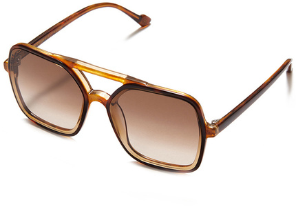 Orange Tort/Brown Gradient Lenses