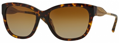 Burberry BE4203 Sunnies Havana Gold, Brown Gradient Polarised
