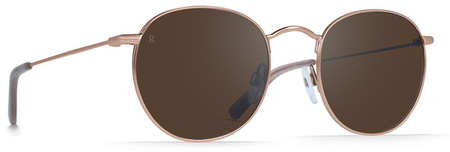 Raen Benson 51 Sunglasses Rose Gold, Brown Rose Mirror