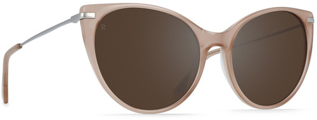 Raen Birch Sunglasses Rose, Brown Silver Mirror
