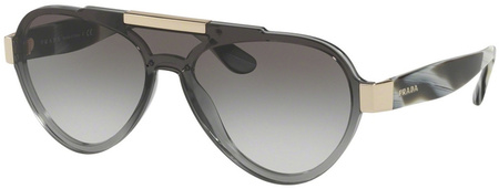 Prada PR 01US Sunglasses Grey, Grey Gradient Lenses