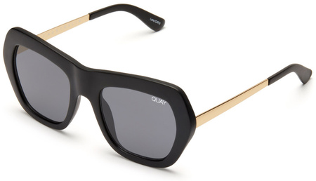 Quay Sunglasses Common Love Black, Smoke Lenses