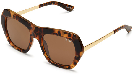 Quay Sunglasses Common Love Tort, Brown Lenses