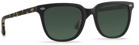 Raen Arlo Optics Matte Black, Brindle Tort, Green Polarised