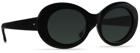 Raen Figurative Sunglasses Black, Green Lenses