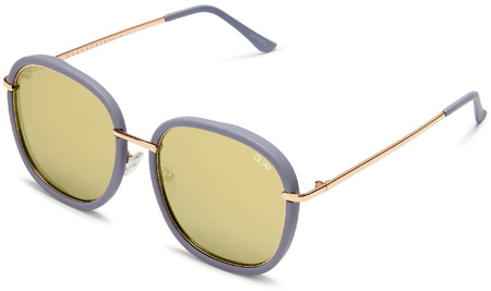 Quay Sunglasses Dreamy Ways Lilac, Gold Mirror Lenses