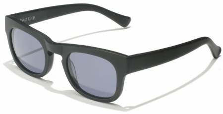 Epokhe Dusan Black Matte with Grey Lenses