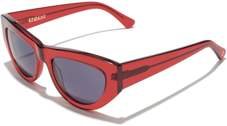 Epokhe Sunglasses Candy Blood Red, Grey Lenses