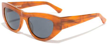 Epokhe Sunglasses Candy Butterscotch, Grey Lenses