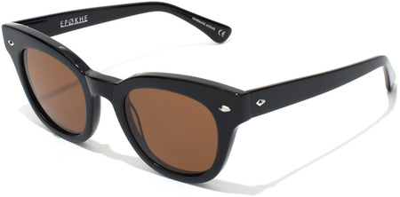 Epokhe Sunglasses Dylan Gloss Black, Bronze Polarised