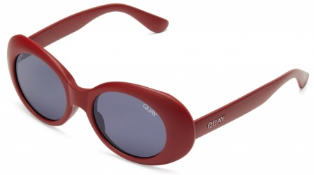 Quay Sunglasses Frivolous Red, Smoke Lenses