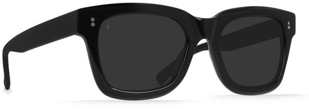 Raen Gilman Sunglasses Black, Smoke Lenses