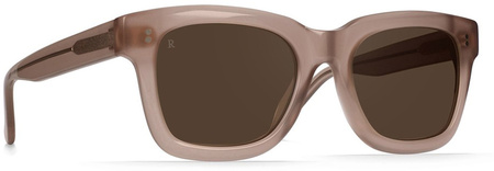 Raen Gilman Sunglasses Rose, Brown Silver Mirror