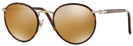 Person 2422SJ Sunglasses Light Gold, Gold Mirror Lenses