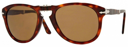 Persol 0714 Sunglasses Havana, Brown Polarised Lenses