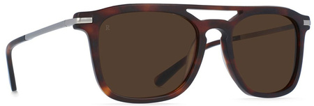 Raen Kettner Sunglasses Matte Rootbeer, Brown Lenses