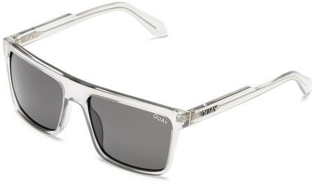 Quay Sunglasses Let It Run Grey, Smoke Lenses