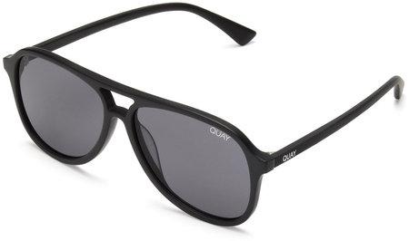 Quay Sunglasses Magnetic Black, Smoke Lenses