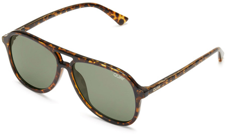 Quay Sunglasses Magnetic Tort, Green Lenses
