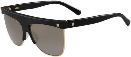 MCM 107s Sunglasses Black, Gold/Brown Lenses