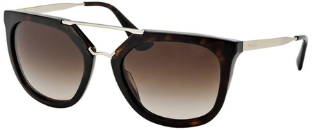 Prada PR 13QSA Havana, Brown Gradient Lenses