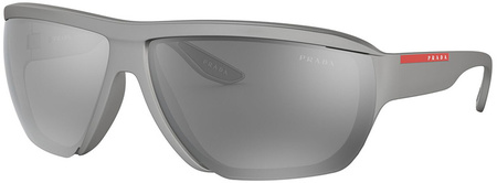Matte Grey/Light Grey Silver Mirror Lenses