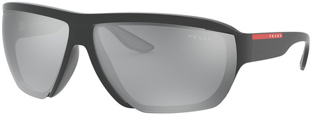 Grey Rubber/Dark Grey Silver Flash Mirror Lenses