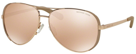 Michael Kors Chelsea Sunglasses Rose Gold, Taupe/Rose Gold