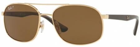 Gold/Brown Polarised Lenses