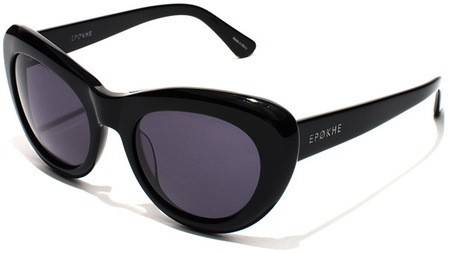 Epokhe Sunglasses Klara Gloss Black, Grey Lenses