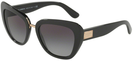 Dolce & Gabbana 4296 Black, Grey Gradient Sunglasses