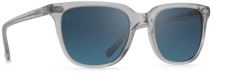 Raen Arlo Optics Arctic Crystal, Smoke Blue Mirror Lenses