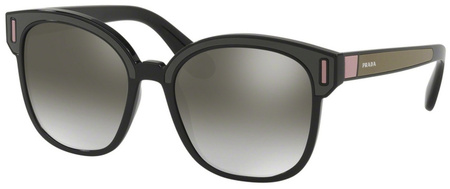 Prada PR05US Sunnies Black, Brown, Pink, Grey Silver Mirror