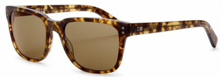 Otis Test of Time Sunglasses Matte Amber Tort, Tropical Brown