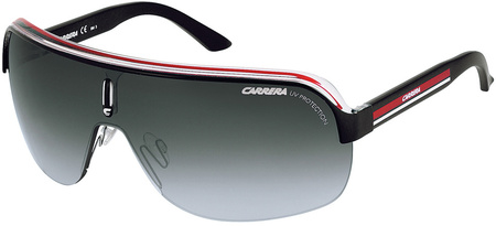 Carrera Top Car 1 Sunglasses Black Crystal Red, Grey Gradient