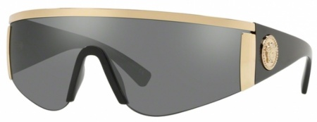 Gold/Grey Mirror Silver Lenses