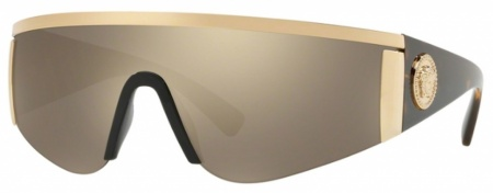 Gold/Light Brown Gold Mirror Lenses