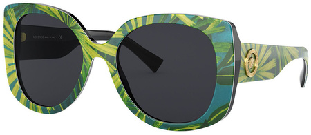 Print Palms/Grey Lenses